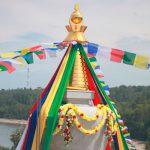 Stupa victory in Tankhoy